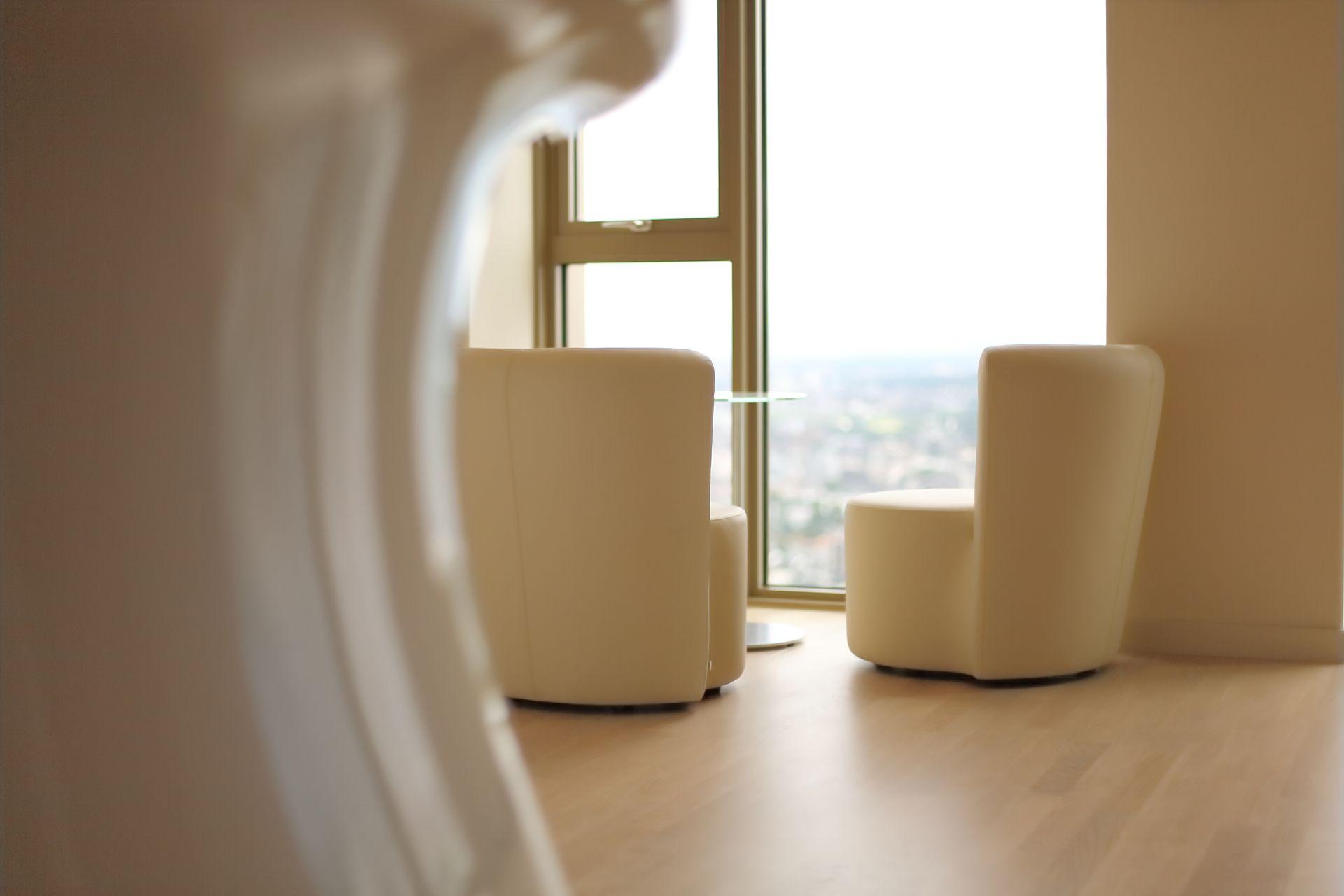 Sitzecke im Office Tower in Frankfurt am Main