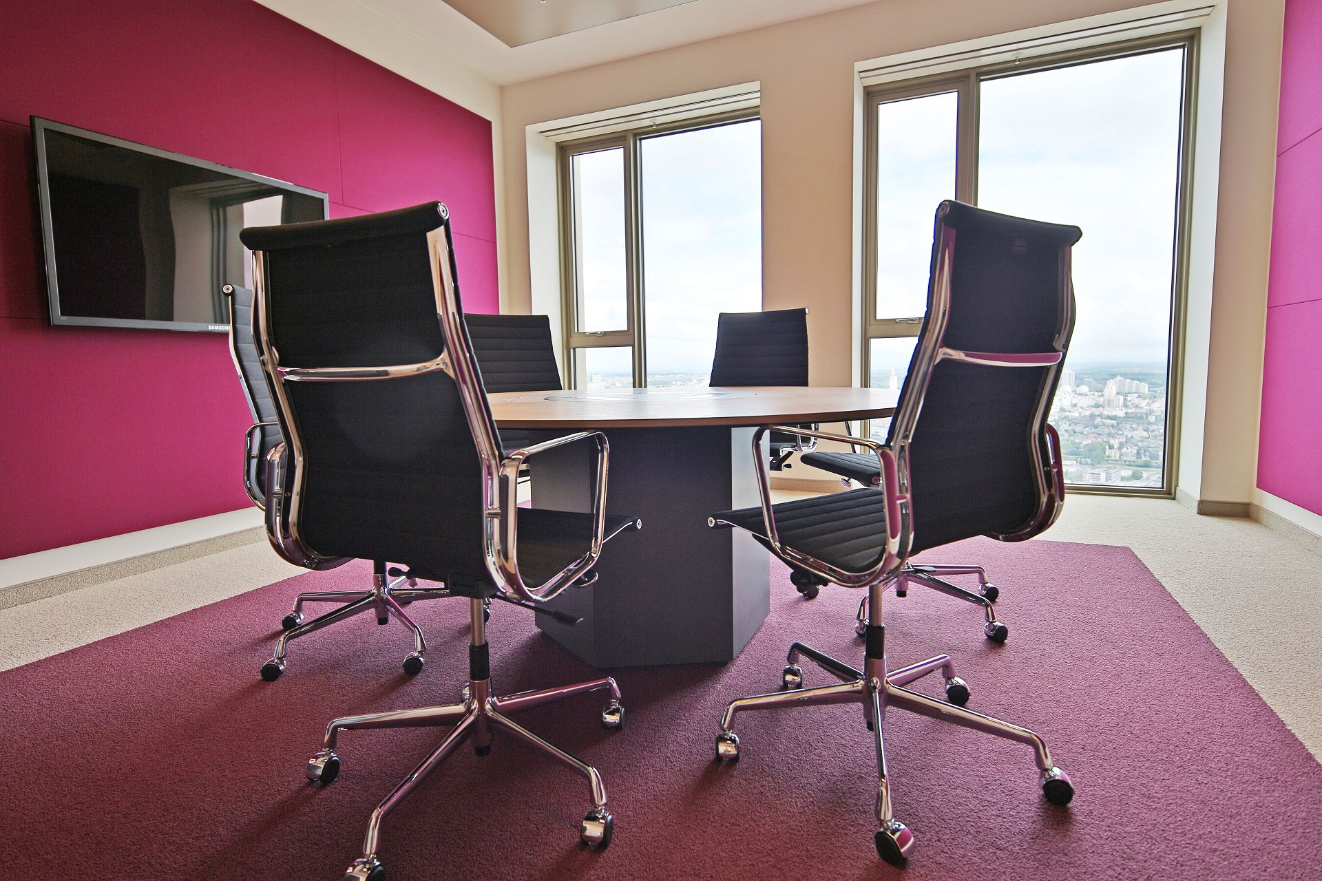 Meeting Room im Office Tower in Frankfurt am Main