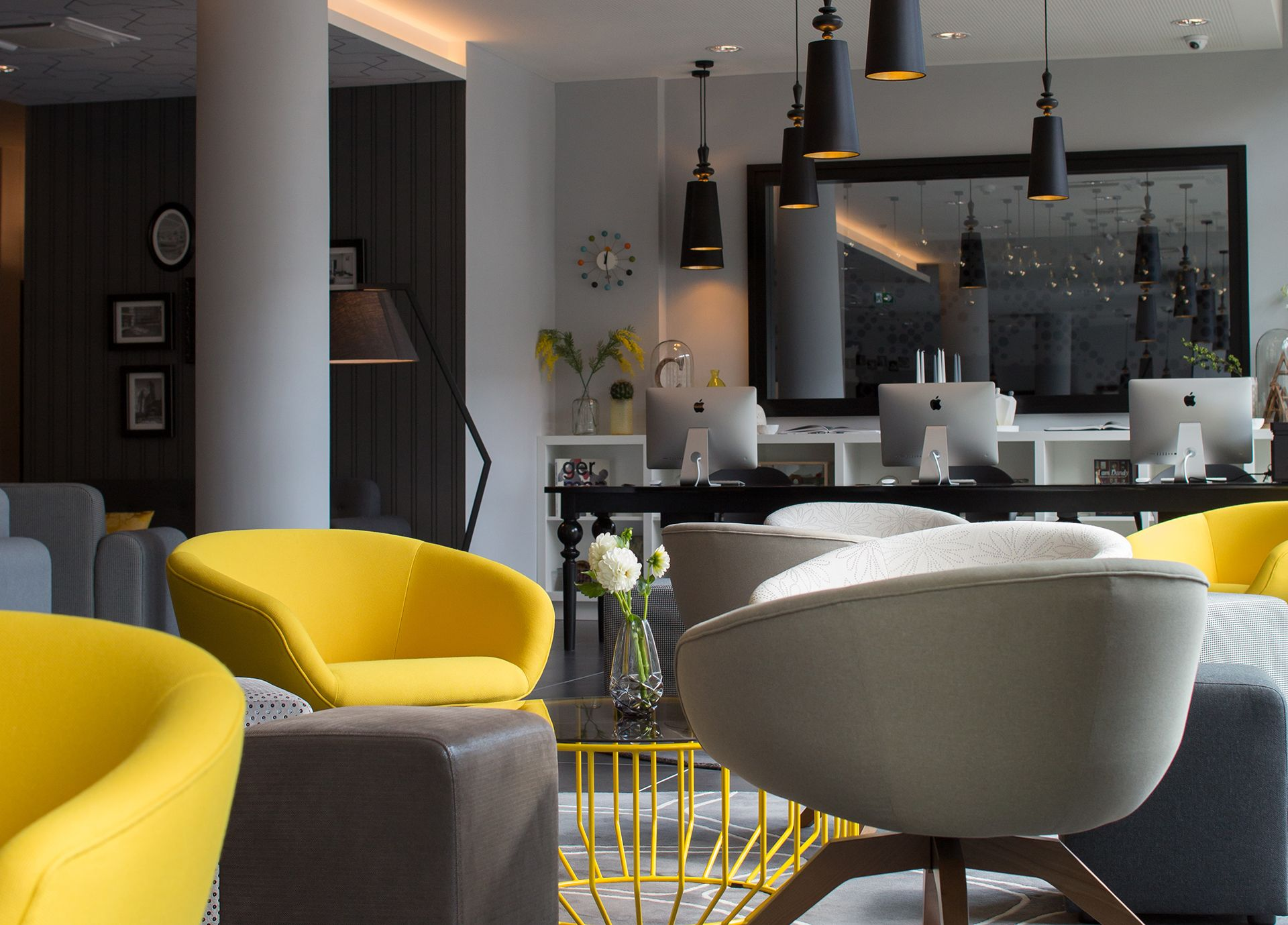 Lobby im Serviced Apartment Capri by Fraser in Frankfurt am Main