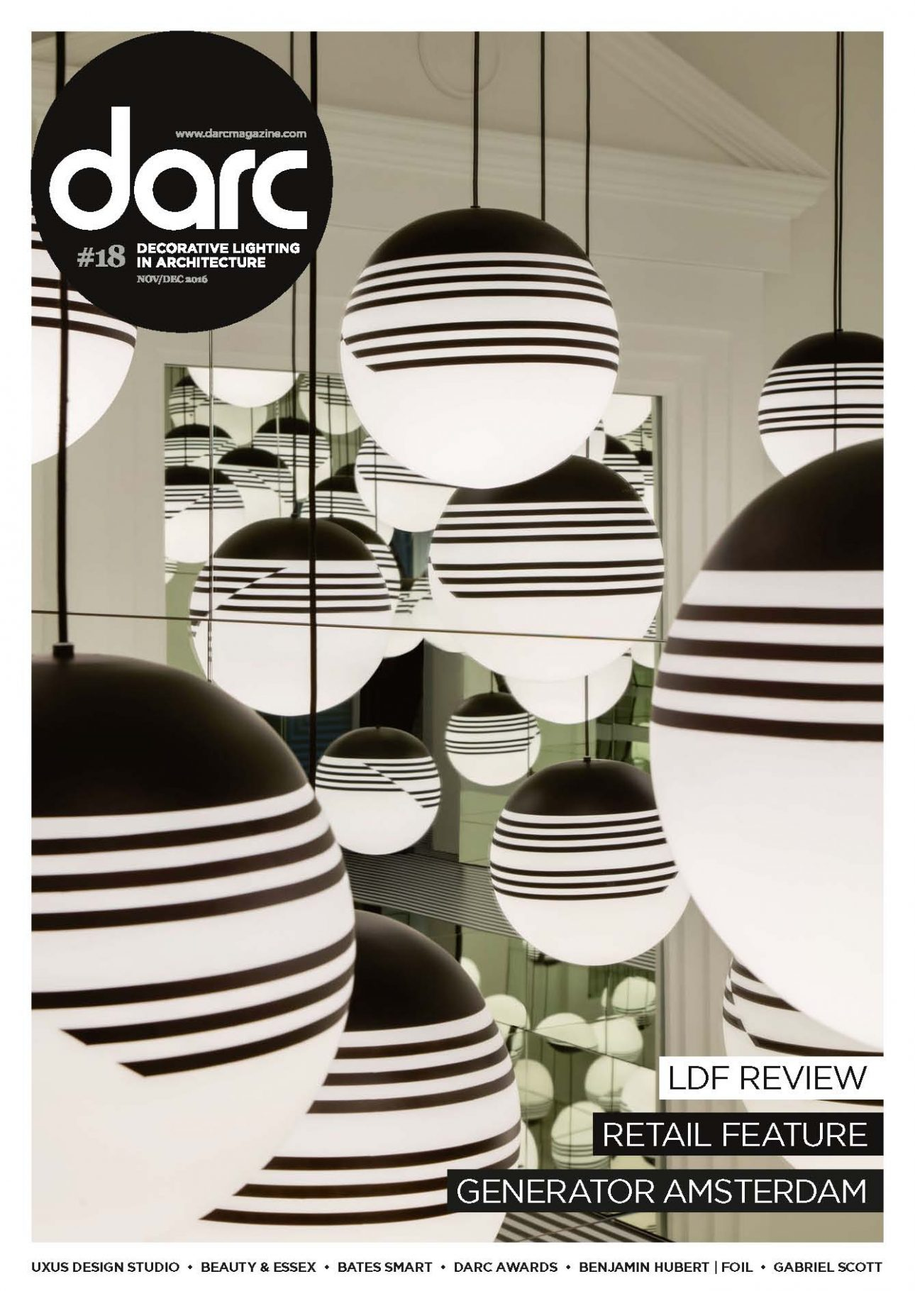 Cover of the darc magazine.