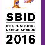 Logo SBID International Design Award 2016