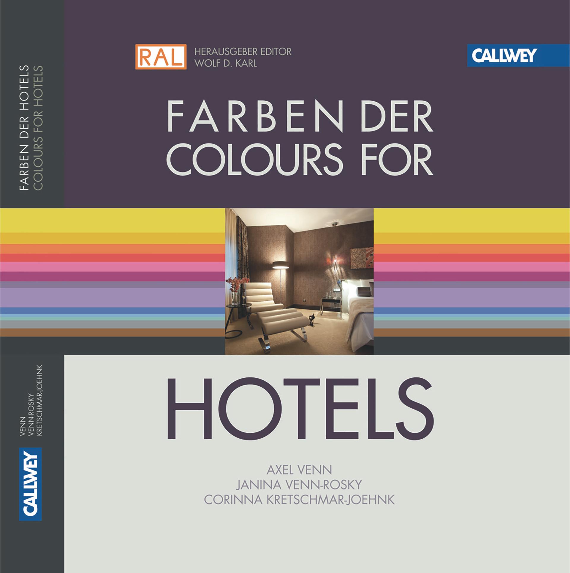 Das Buch Farben der Hotels Corinna Kretschmar-Joehnk von JOI-Design