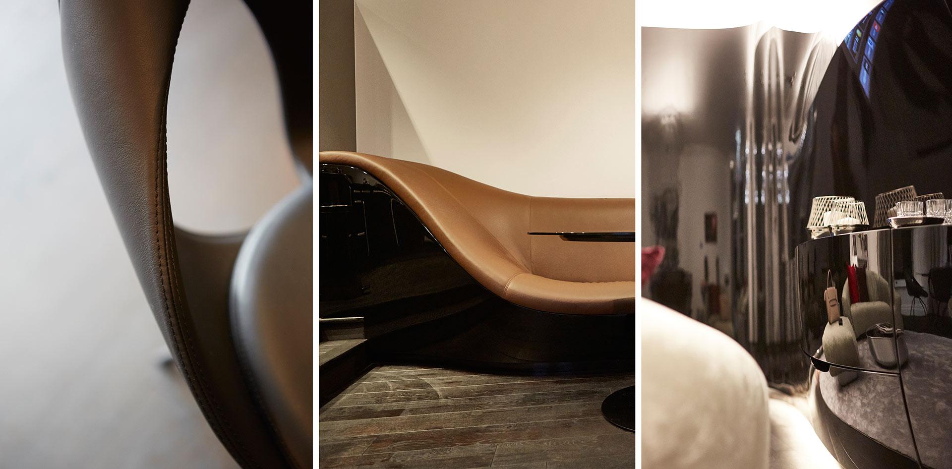 Impressionen aus dem Hapimag Resort in Hamburg. Entworfen von JOI-Design.