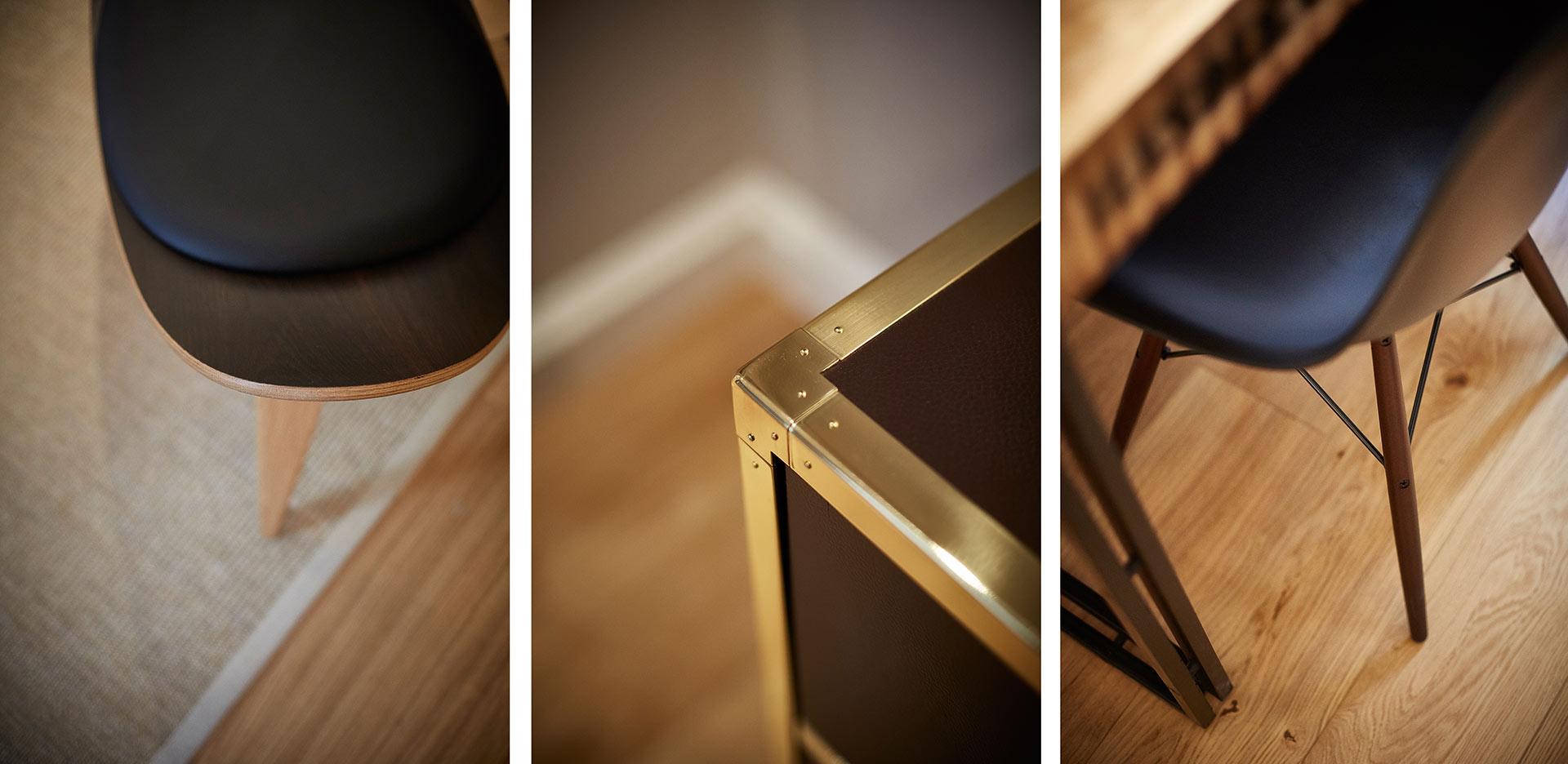 Impressionen aus dem Apartment im Hapimag Resort in Hamburg. Entworfen von JOI-Design.