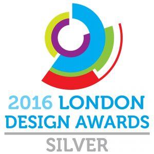 Das Certificate London Design Award 2016 silver