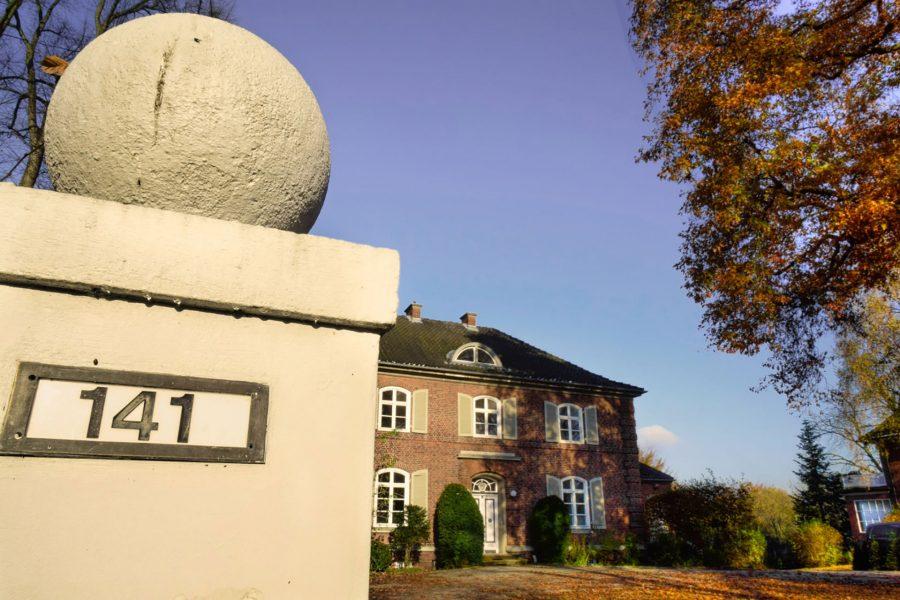 Das JOI-Design Büro Außenansicht in Hamburg Bebelallee