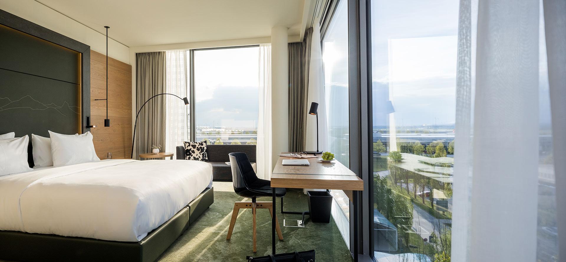 Zimmer Hotel Hilton Munich Airport