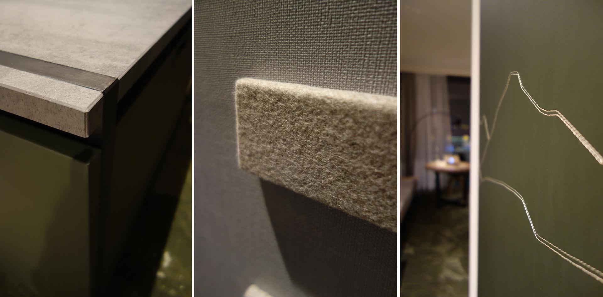 Materialien im Zimmer im Hotel Hilton Munich Airport