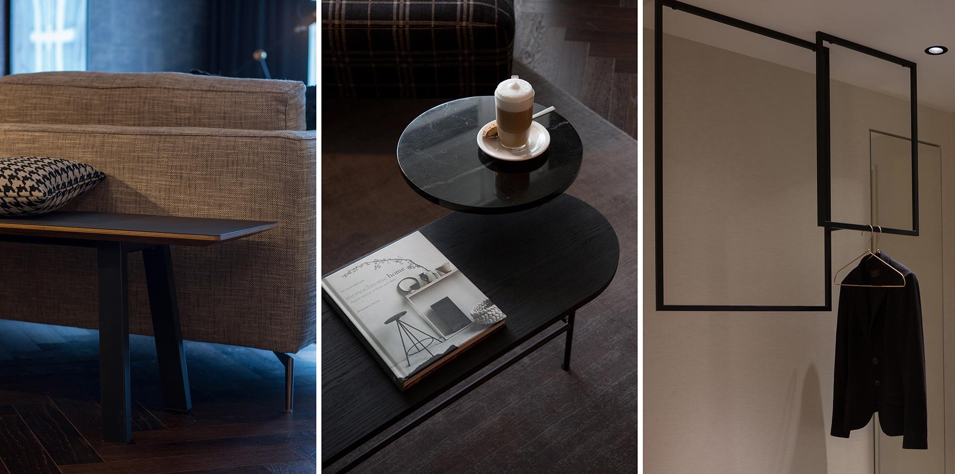 Ein Zimmer Wohnidee für Suiten im Radisson Blu in Frankfurt