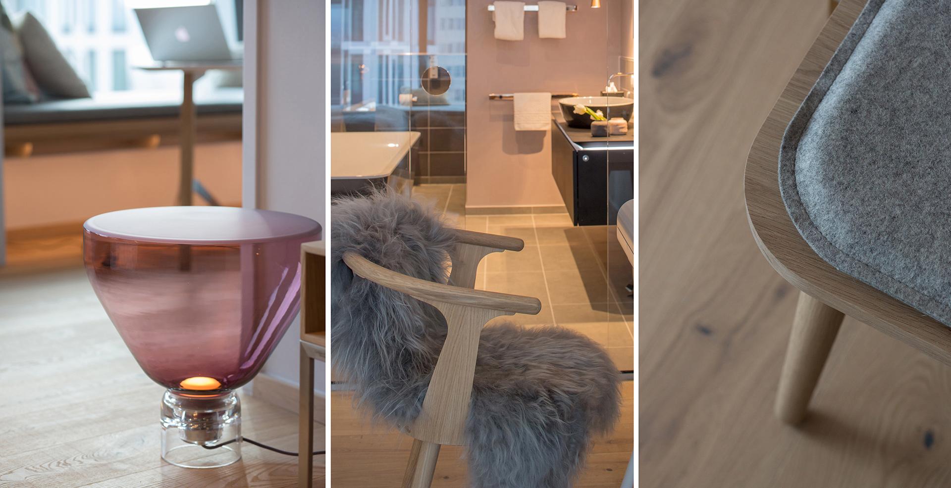 Wohnidee für Suiten im Radisson Blu in Frankfurt