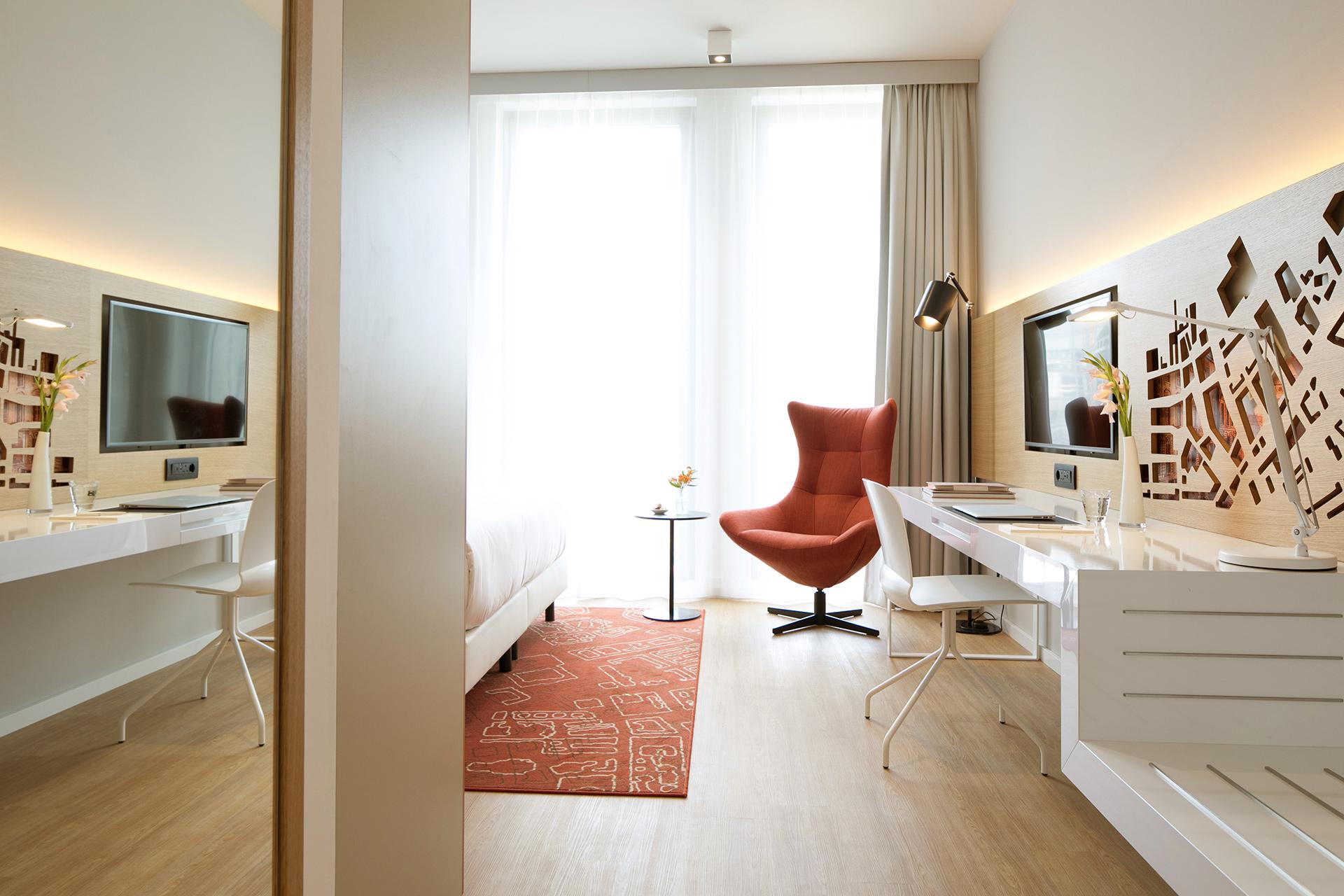 Ein Zimmer im Capri by Fraser in Berlin