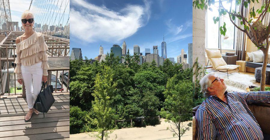 Corinna Kretschmar-Joehnk und Peter Joehnk bei ihrem Besuch in New York.