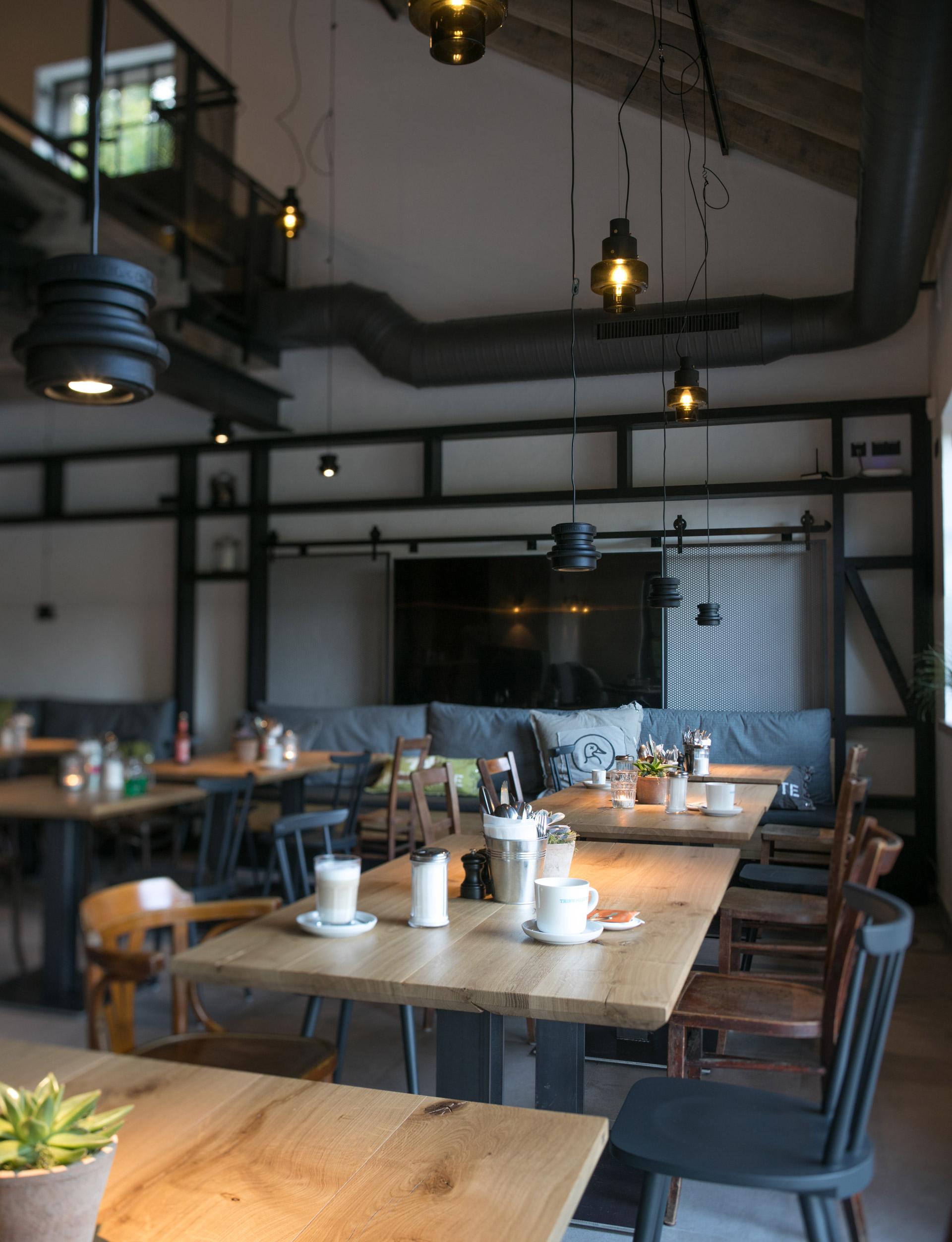 Innenansicht des Restaurants Wilde Ente in Iserlohn