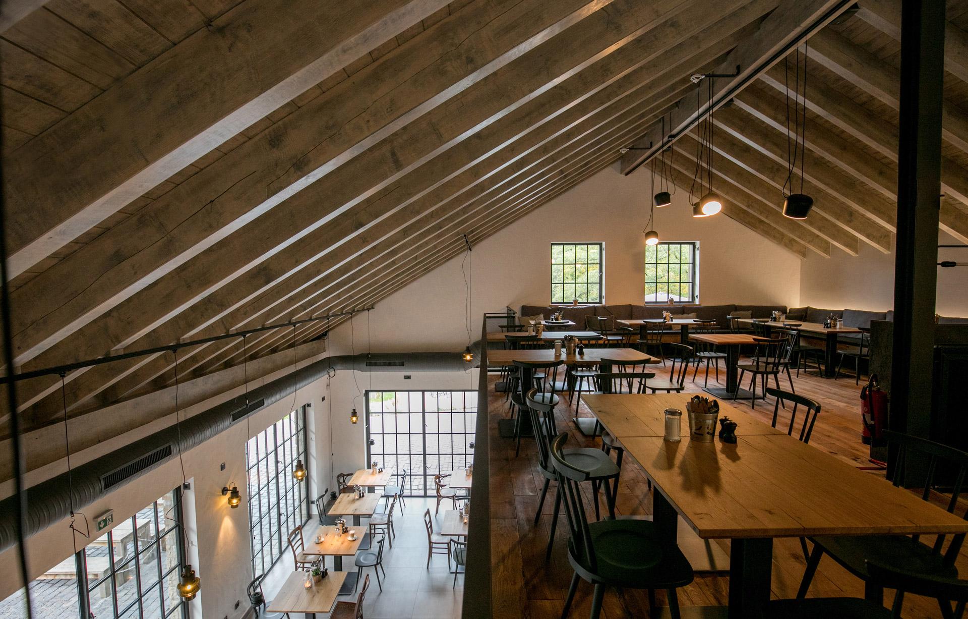 Ansicht EG und OG im Restaurant Wilde Ente in Iserlohn