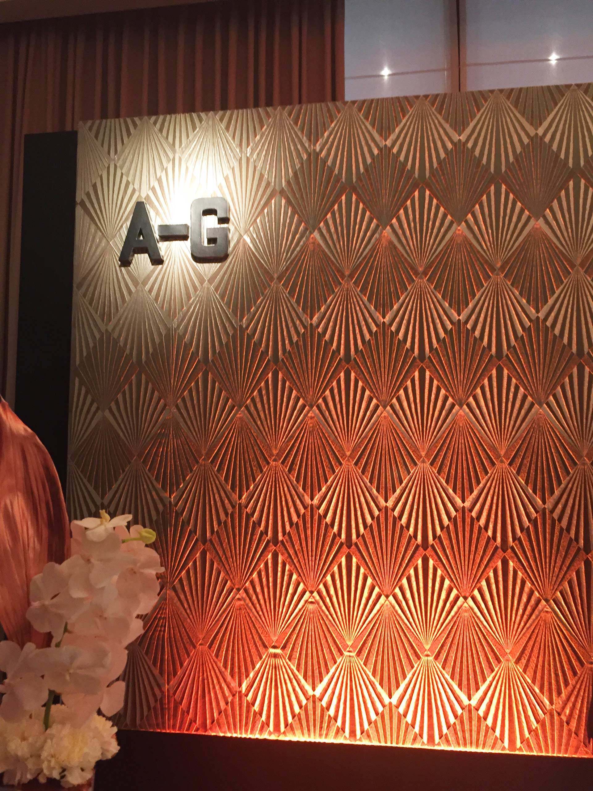 Der Check in A-G auf der Preisverleihung Hotelier des Jahres 2018