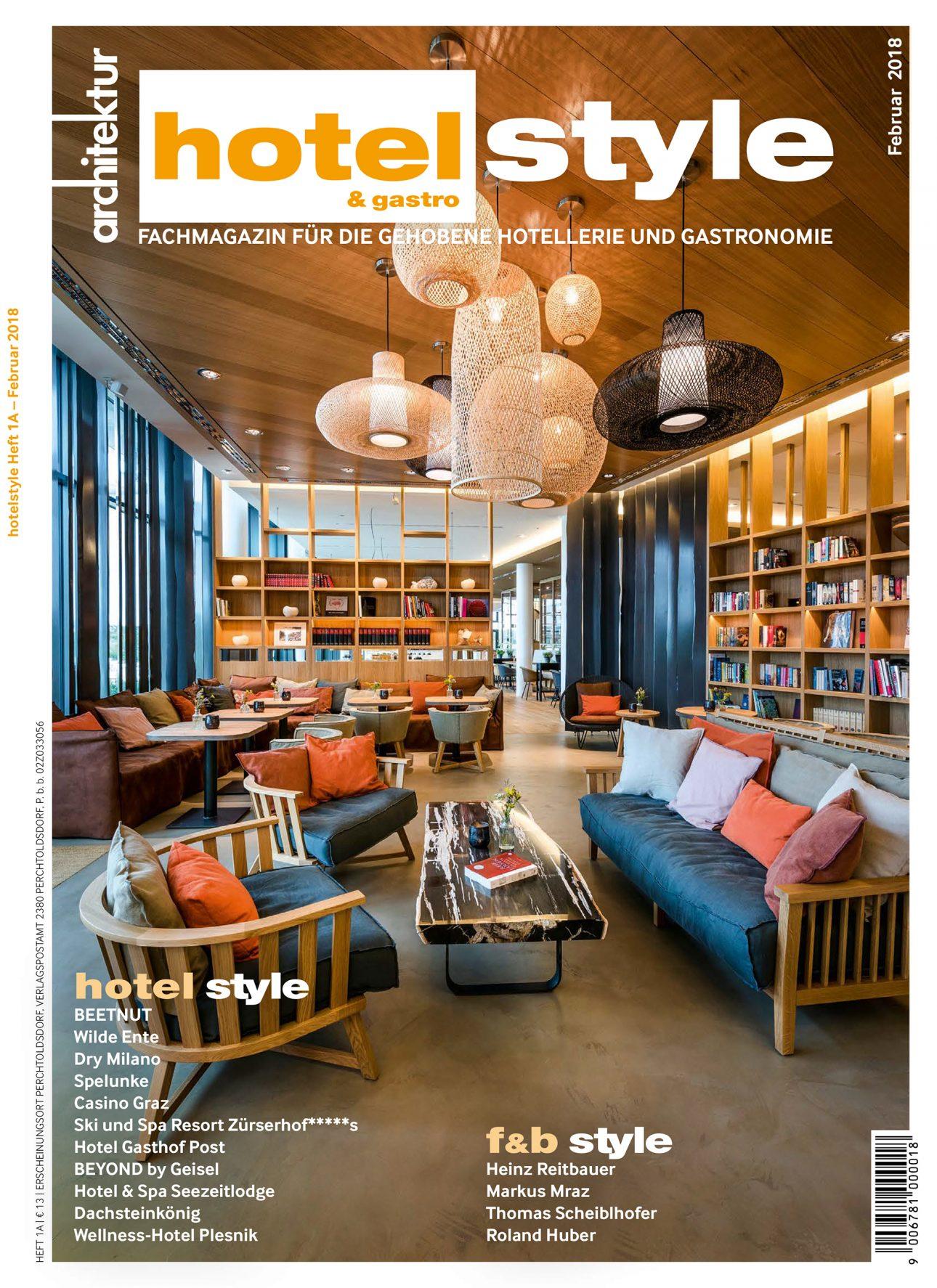Das Cover von Hotel Style & Gastro mit einem Artikel über das Restaurant Wilde Ente in Iserlohn