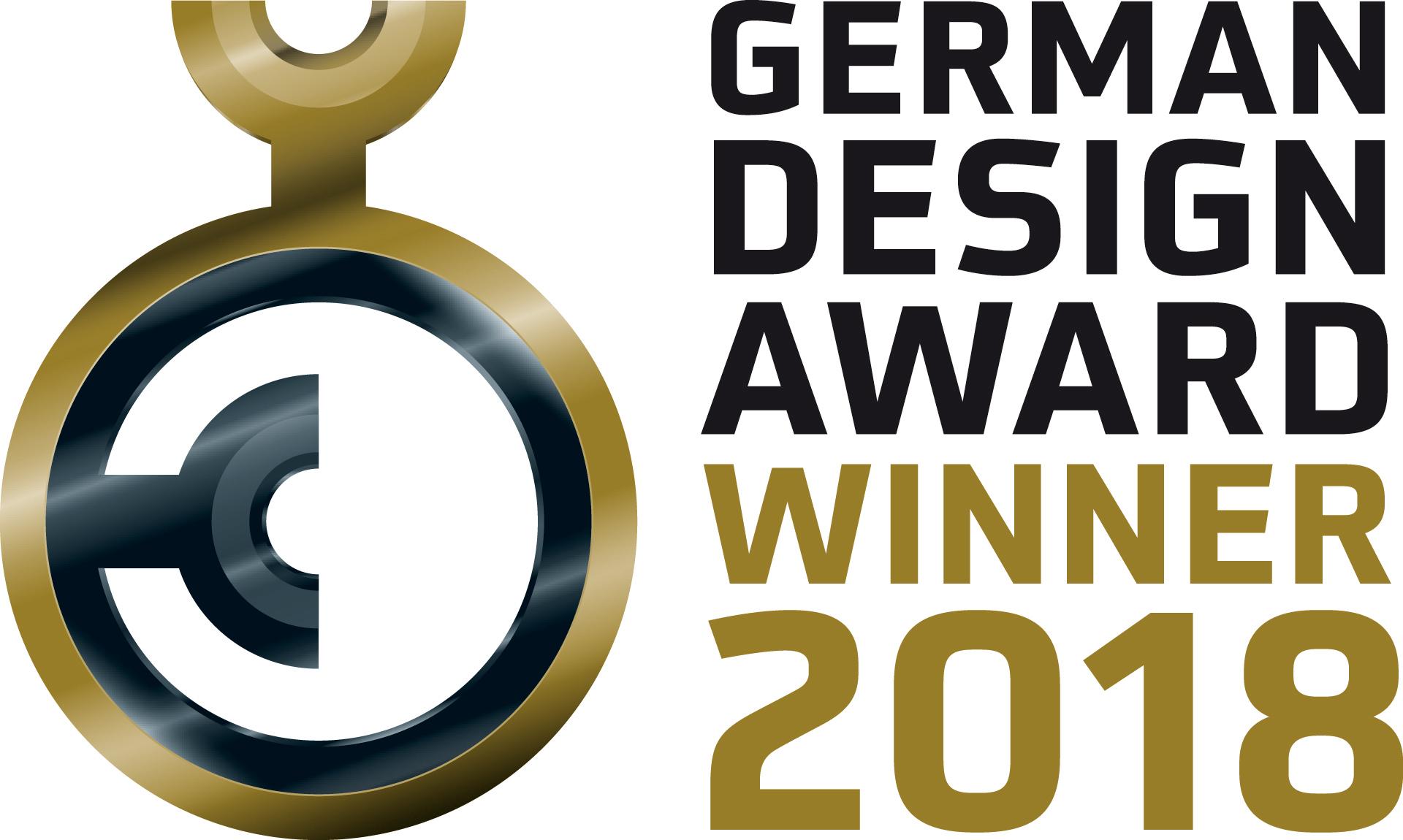 Logo German Design Award Winner 2018