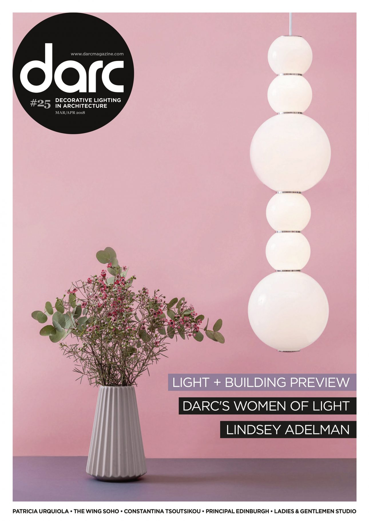 Cover of the darc magazine with an article about JOI-Design