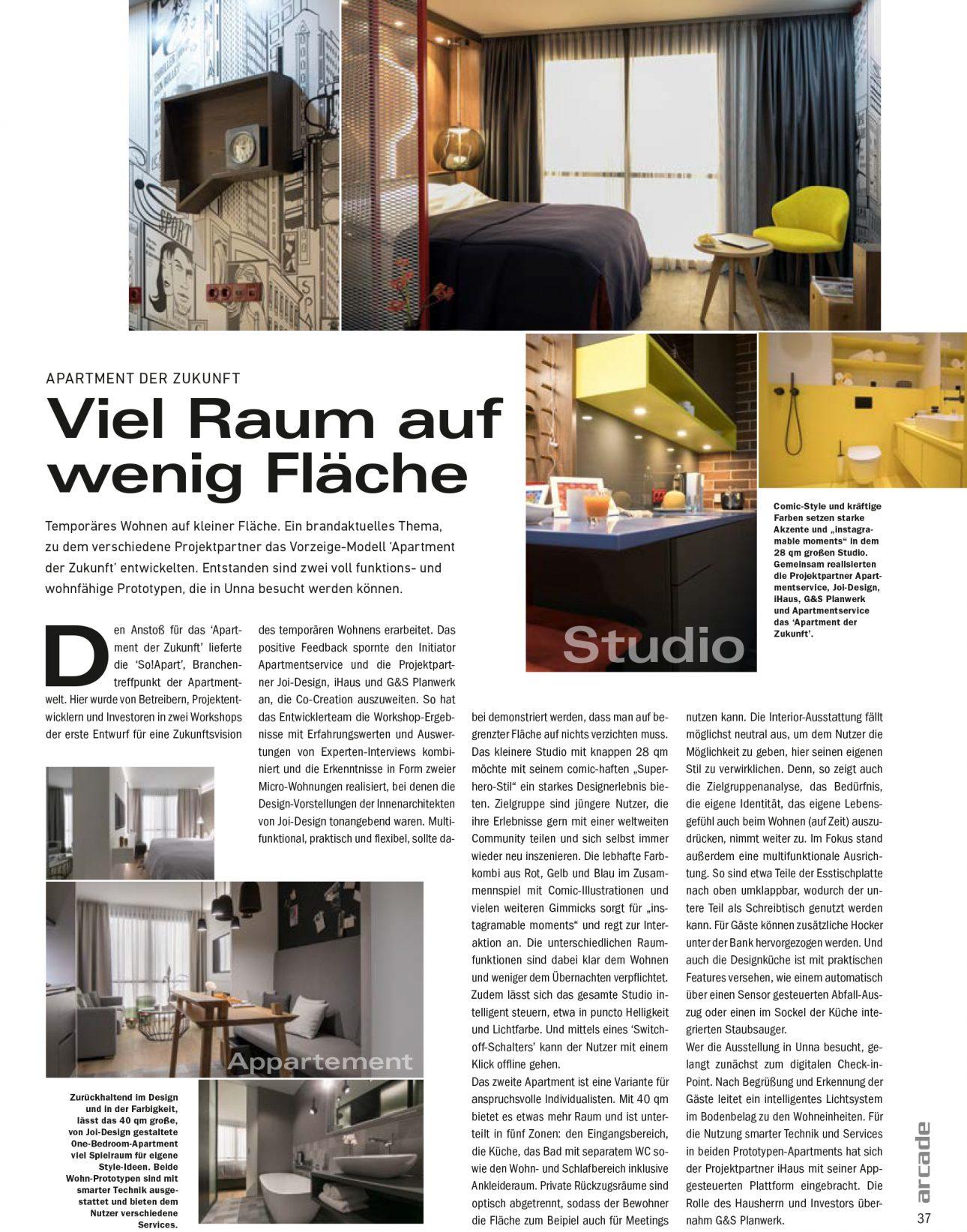 arcade 03/04 2018 - JOI-Design | Innenarchitektur | Interior Design ...