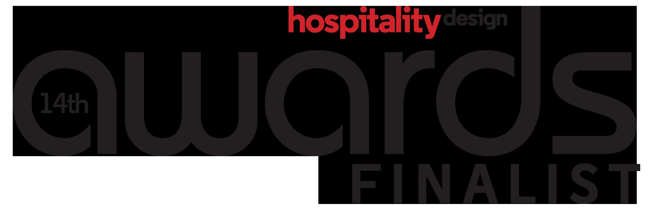 Logo hospitality design awards finalist