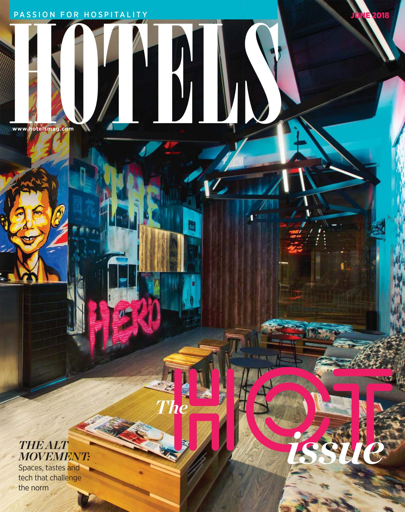 Cover des Magazin Hotels