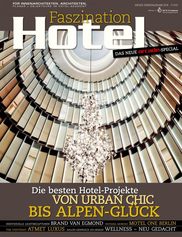 Das Cover des Magazins Faszination Hote mit einem arcade-Special