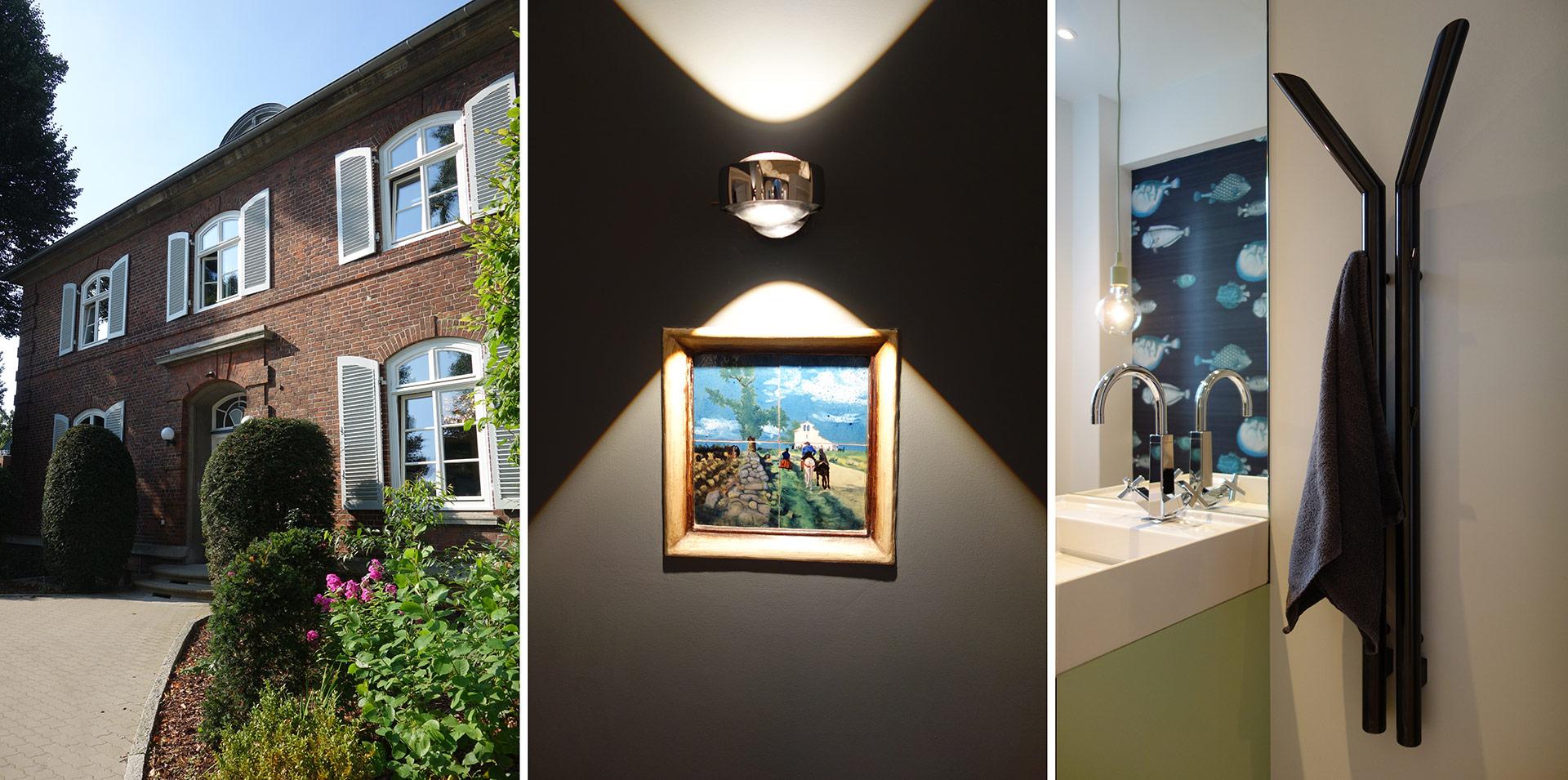 Detailaufnahmen in der JOI-Design Villa