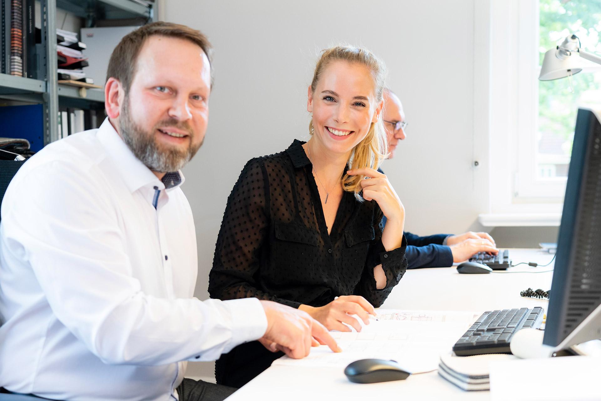 Katharina Klotz und Heinrich Böhm von JOI-Design.