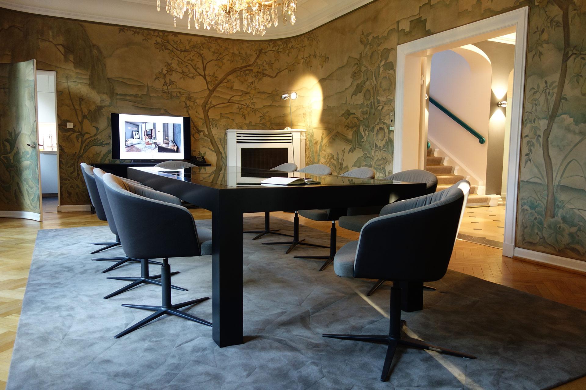 Konferenzraum in der JOI-Design Villa
