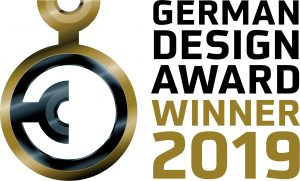 Das Logo des German Design Award Winner 2019