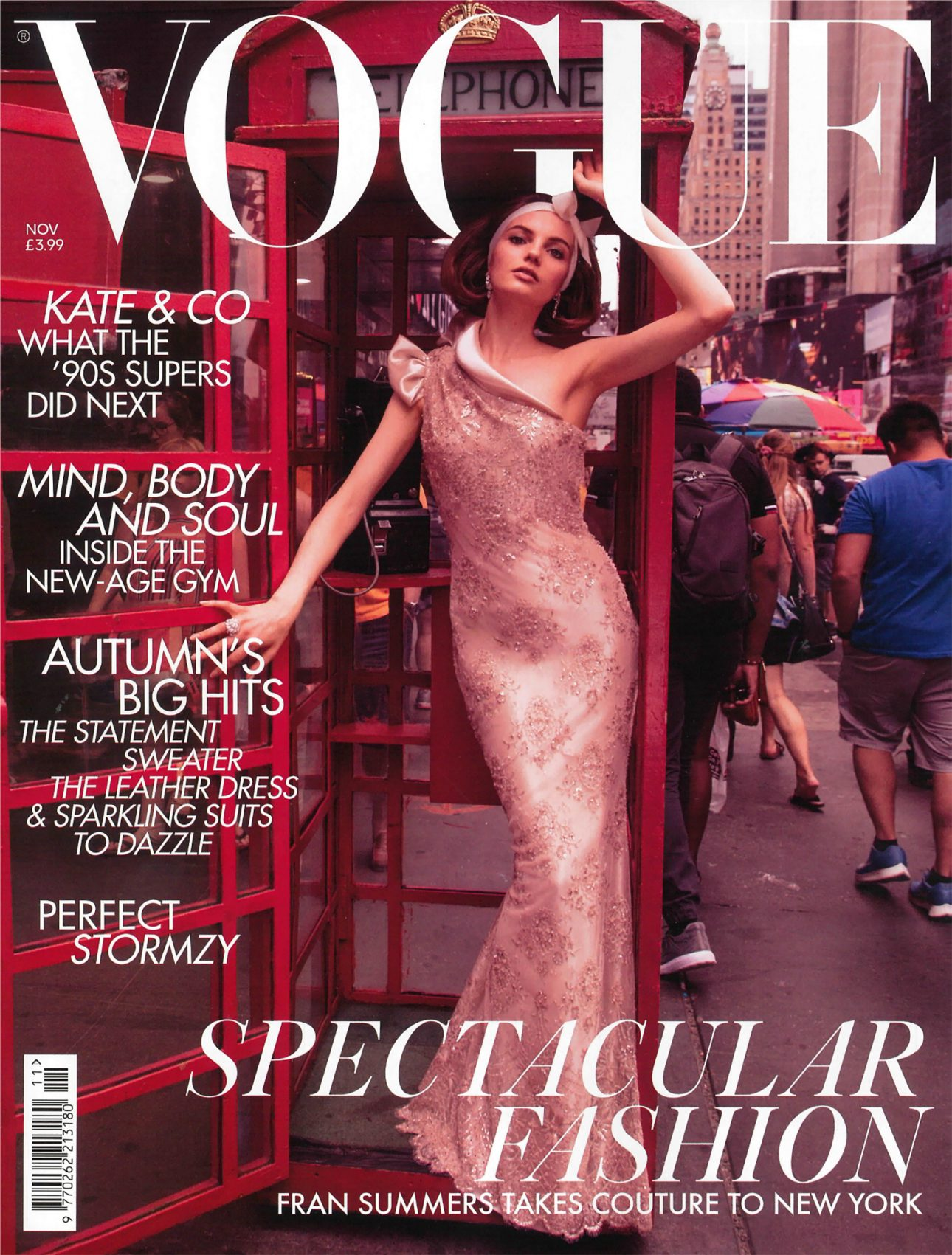 "Cover of the ""Vogue UK"" with an article about JOI-Design"