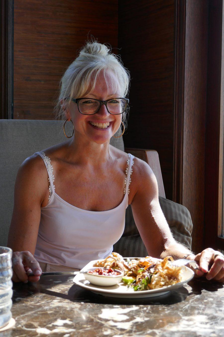 Corinna Kretschmar-Joehnk auf Ihrer Reise auf Bali