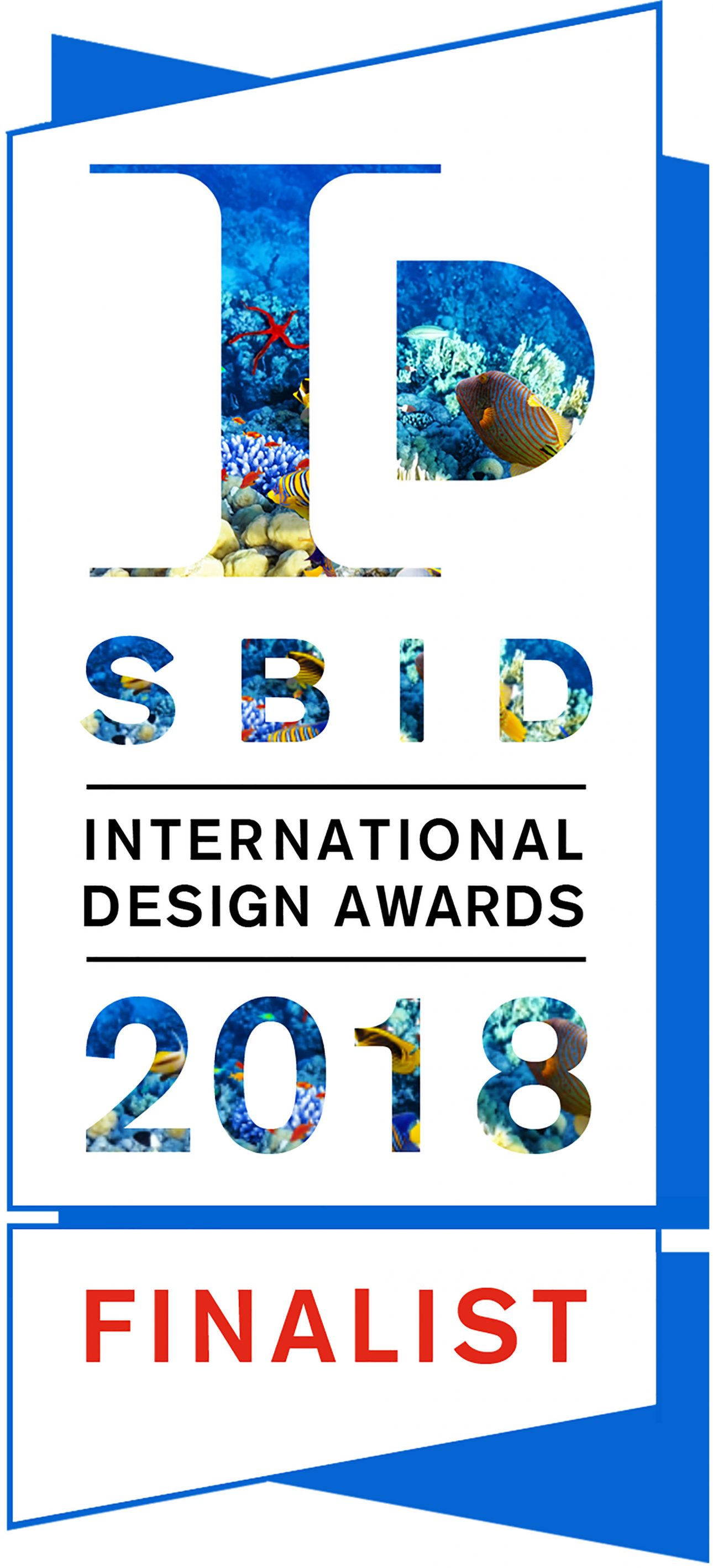 JOI-Design is one of the finalists of the 2018 SBID Awards