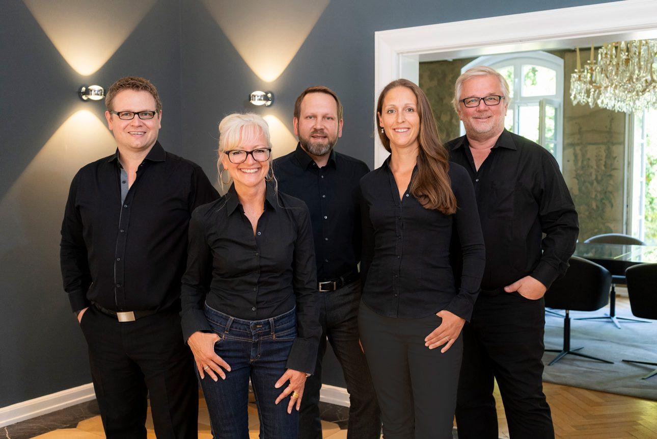 Fünf Partner bei JOI-Design