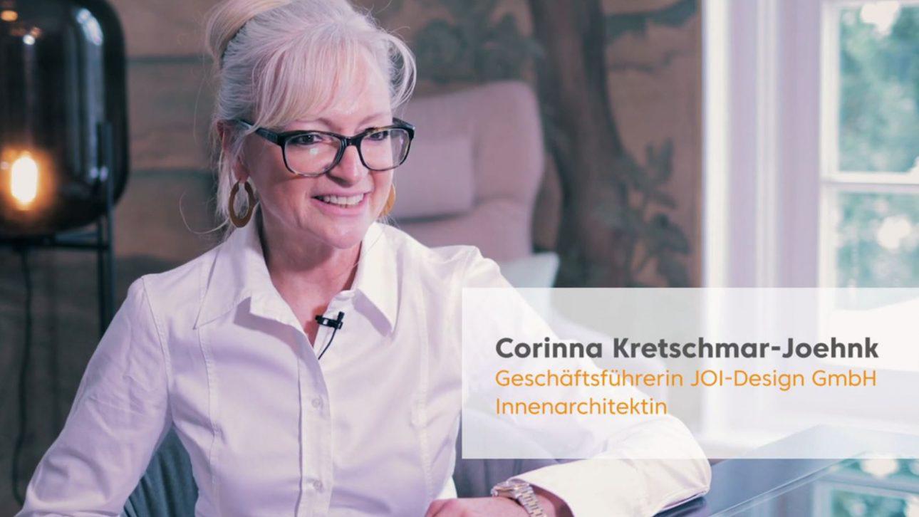 Corinna Kretschmar-Joehnk gibt der Internorga ein Interview