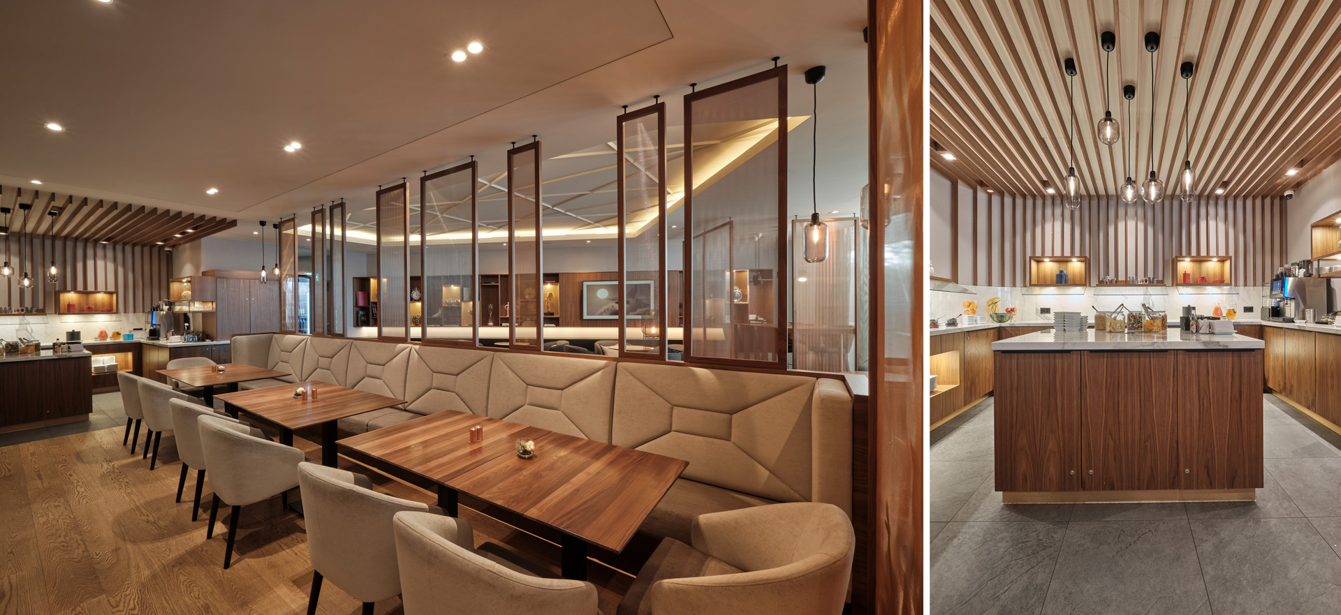Dining in der M Lounge by JOI-Design